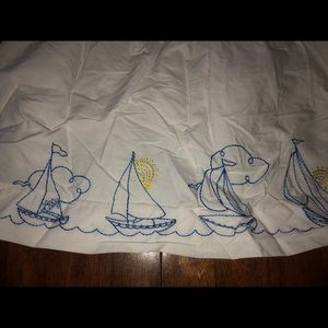 Lilly Pulitzer Bottoms - Lilly pulitzer sailboat skirt 5 sun white
